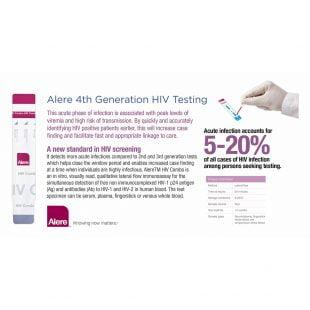 Alere HIV Test 4th Generation