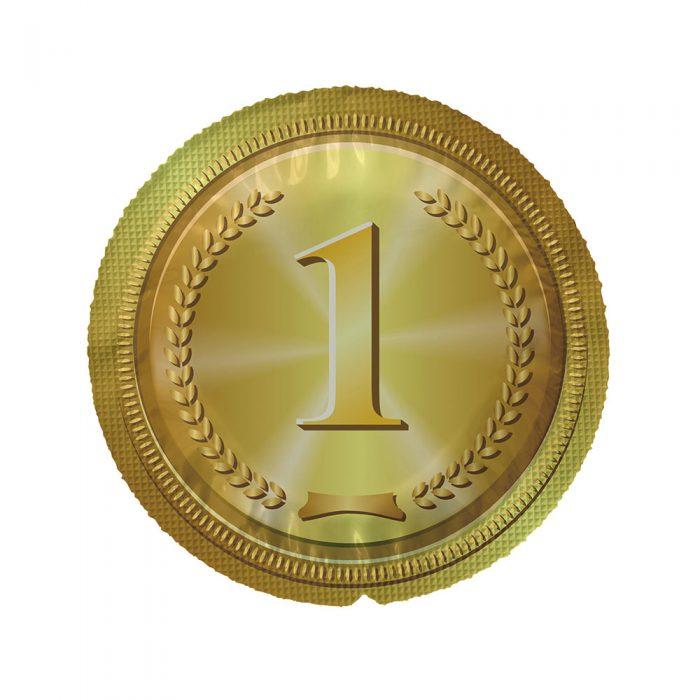 EXS Circular Gold Medal