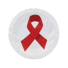 EXS Circular Red Ribbon (World Aids Day)