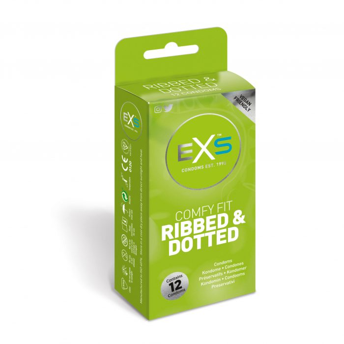 EXS Ribbed & Dotted (12) Pack
