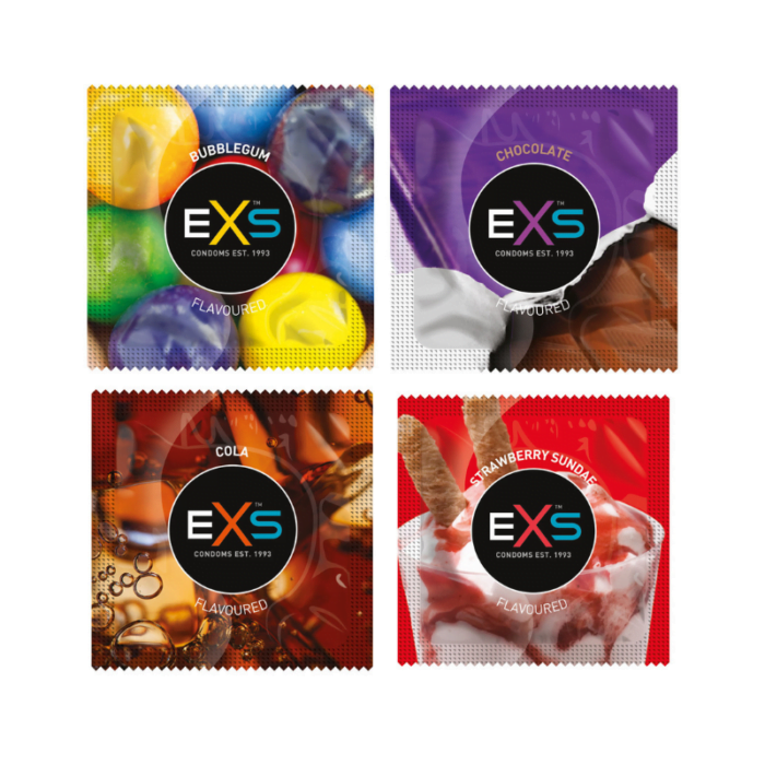 EXS Mixed Flavours (400) pack