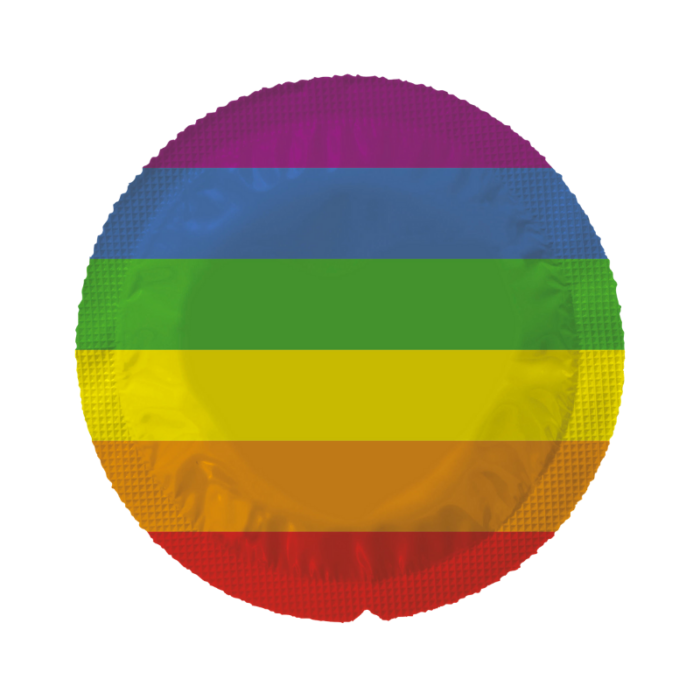 EXS Circular Pride Flag